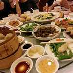 dim sum and cooked dishes