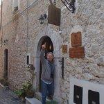 Carlo at front door