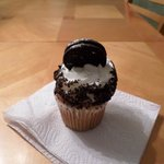Cookie and Cream Cupcake
