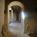 Courtyard and corridor