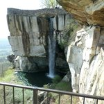 Lookout Mountain And A Nice Waterfall