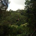 Ziplining with BIEA