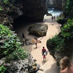 Uluwatu surf break entrance