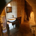 Bathroom in the cave