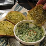 Spinach Dip delicious dipping breads