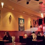 Restaurant interior, great ambience and atmosphere!