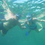 at Yal Ku Lagoon