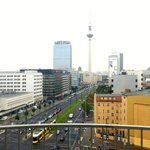 View towards Alexander Platz