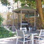 Communal BBQ in back garden