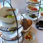 Breakfast sets at Meierei