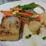 Scallop dinner... Minus a couple scallops I already ate. Very good!