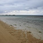天気の悪い日のニシ浜(3月撮影)