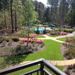 Beautiful grounds and pool at The Lodge & Spa at Callaway