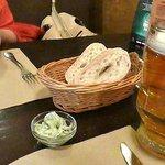 Lard and bread, at the Black Piglet.