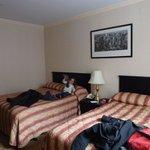 Habitación 1206, 2 camas de 2 plazas en el dormitorio