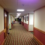 Hall Ways Are Long But Well Lighted and Space is Broken