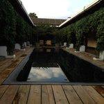 Habitacion 520 y la piscina