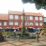 Stadthuys and Queen Victoria Fountain