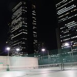 Tennis Among Skyscrapers!