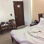 my room after a good nights sleep.