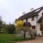 Exterior of Larkrise Cottage