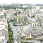 View of Sevilla from the cathedral tower