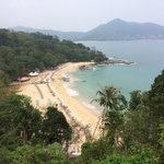 Laem Sing Beach.. A favourite day trip from the hotel by bike.