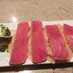 Delicious Quesadillas with Fresh Seared Tuna