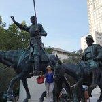 Мадрид. Дон Кихот и Санчо Панса.