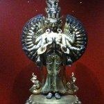 the Buddism exhibit