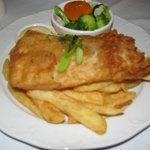 Barramundi - 1st Stay ($31) (Very nice,more salad/vegies desirable). 2nd stay - inedible black f
