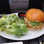 Fusion burger...delicious!