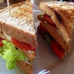 BLT simple fresh and full of flavour.