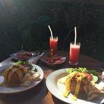 Pajar's Nasi Goreng, breakfast