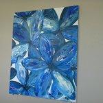 Aquarius: Pleasant Artwork Lined The Hallway on Level 11.