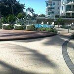 Aquarius on the Beach: On site Pool.