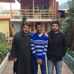 My son with Mr. Javed & Sarwar