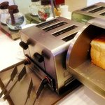 Breakfasts - bread with toaster for self service
