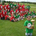 The actual RYDER CUP visits a 7-15yr age George Best Junior Invitational Golf Event at Lakeside