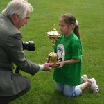 The actual RYDER CUP visits a 7-15yr age George best Golf Event at Lakeside