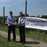 CJ Construction who helped sponsor the George Best Junior Golf Event in 2008