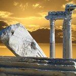 мой  взгляд  на  храм Аполлона