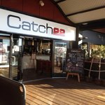 Entry of Catch 22 at Dolphin Quay