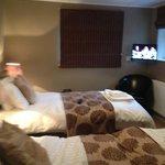 Wensleydale twin bedroom