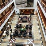 Hotel lobby. Amazing