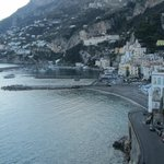 More views of Amalfi from our room