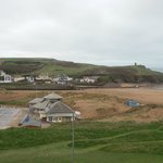 Summerleaze beach - view from room 14