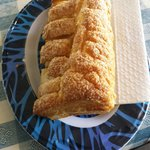 Pastella alla crema di guayaba! Andate alla panadería di fianco all'abitazione!