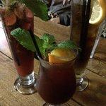 Sangria, long island iced tea and berry mojito!