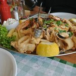 Mixed seafood platter... so fresh!
